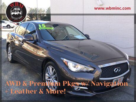 2015 INFINITI Q50 Premium AWD Arlington VA