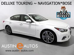 2015_INFINITI_Q50 Premium_*DELUXE TOURING, NAVIGATION, BACKUP-CAMERA, LEATHER, MOONROOF, HEATED SEATS, BLUETOOTH & AUDIO STREAMING_ Round Rock TX