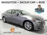 2015 INFINITI Q50 Premium *NAVIGATION, BACKUP-CAMERA, BOSE, HEATED SEATS, MOONROOF, BLUETOOTH PHONE & AUDIO