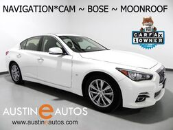 2015_INFINITI_Q50 Premium_*NAVIGATION, BACKUP-CAMERA, MOONROOF, DUAL TOUCH SCREEN, BOSE AUDIO, HEATED SEATS, BLUETOOTH_ Round Rock TX