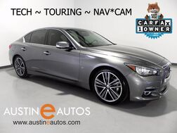 2015_INFINITI_Q50 Premium_*TECH PKG, DELUXE TOURING, NAVIGATION, BLIND SPOT ALERT, LEATHER, BOSE, BLUETOOTH AUDIO_ Round Rock TX