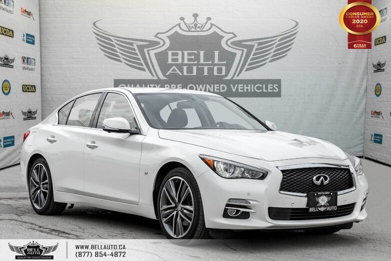 2015 INFINITI Q50 S, AWD, NO ACCIDENT, NAVI, 360 CAM, SENSORS Toronto ON