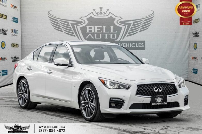 2015 INFINITI Q50 S, NO ACCIDENT, AWD, NAVI, 360 CAM, B.SPOT, SUNROOF Toronto ON