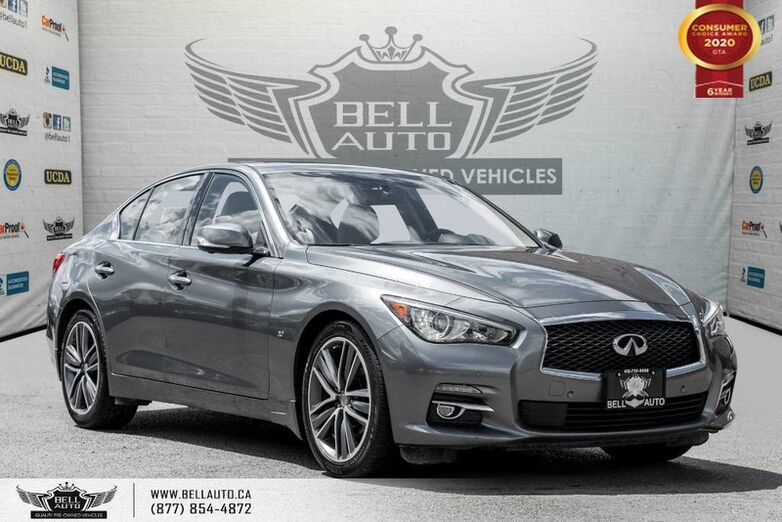 2015 INFINITI Q50 Sport, AWD, V6, NAVI, 360 CAM, SUNROOF, PUSH START Toronto ON