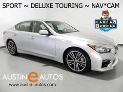 2015_INFINITI_Q50 Sport_*DELUXE TOURING, NAVIGATION, BACKUP-CAMERA, LEATHER, MOONROOF, BOSE AUDIO, HEATED SEATS, BLUETOOTH_ Round Rock TX
