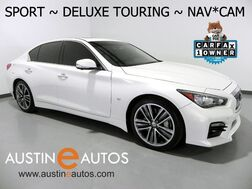 2015_INFINITI_Q50 Sport_*DELUXE TOURING, NAVIGATION, BACKUP-CAMERA, LEATHER, MOONROOF, HEATED SEATS, BOSE, BLUETOOTH_ Round Rock TX