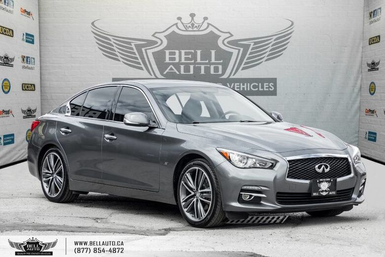 2015 INFINITI Q50 Sport, NAVI, BACK-UP CAM, SUNROOF, LEATHER, BLUETOOTH Toronto ON
