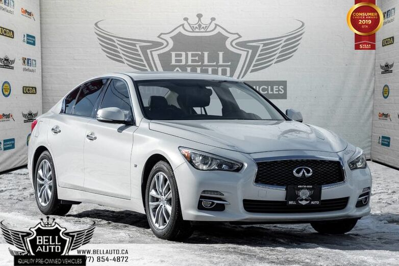 2015 INFINITI Q50 Sport, NAVI W/ MEMORY, BACK-UP CAM, LEATHER, MOONROOF Toronto ON