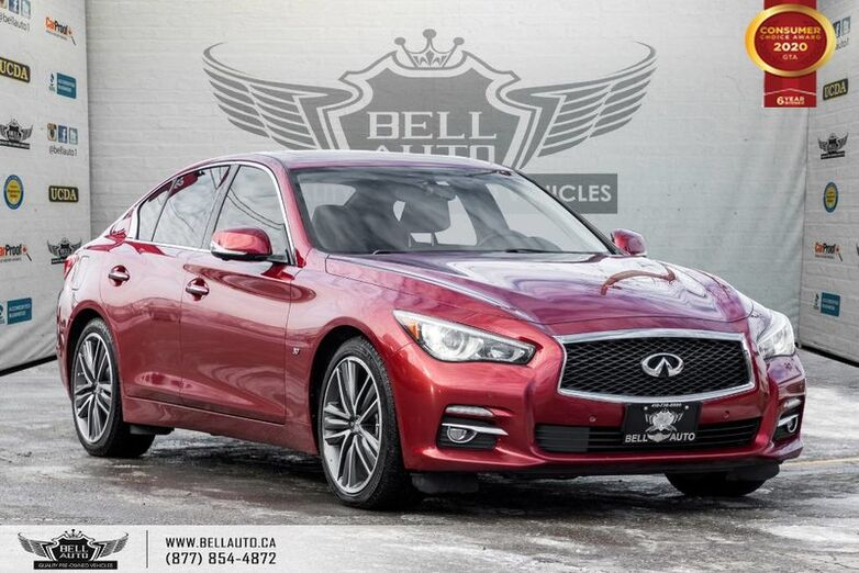 2015 INFINITI Q50 Sport, NO ACCIDENT, AWD, NAVI, B.SPOT, 360 CAM, SUNROOF Toronto ON