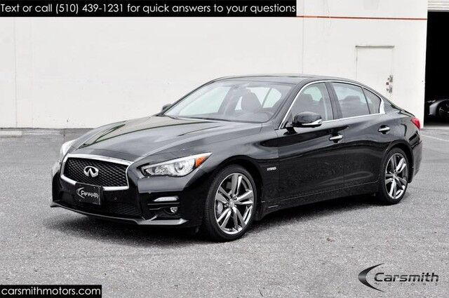 2015 INFINITI Q50S Sport Hybrid VERY RARE! AWD, $5,000 Deluxe Tech Package  & CPO Certified!