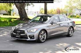 2015_INFINITI_Q50S Sport Hybrid_WOW! ZERO -to-60 in 4.9 Seconds, 30+ MPG and CPO Certified!!!_ Fremont CA