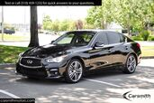 2015 INFINITI Q50S Sport LOW MILES! Deluxe Touring Pkg, & CPO Certified!