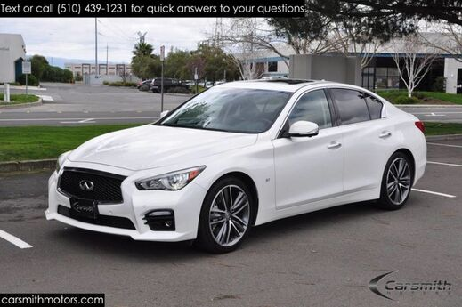 2015 INFINITI Q50S Sport LOW MILES & LOADED! Deluxe, Tech & CPO Certified! Fremont CA