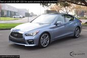 2015 INFINITI Q50S Sport RARE--Deluxe Touring Package and CPO Certified!