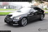 2015 INFINITI Q50S Sport RARE Deluxe Touring, Navigation & CPO Certified!