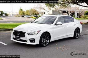 2015_INFINITI_Q50S Sport_RAYs Forged Sport Wheels, Nav & CPO Certified!_ Fremont CA