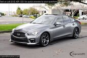 2015 INFINITI Q50S Sport RAY's Forged Wheels, Deluxe Touring & CPO Certified!