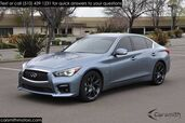 2015 INFINITI Q50S Sport RAY's Forged Wheels, Sport, Navigation & CPO Certified!