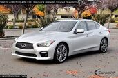 2015 INFINITI Q50S Sport WOW! LOW Miles, Deluxe Touring & CPO Certified!