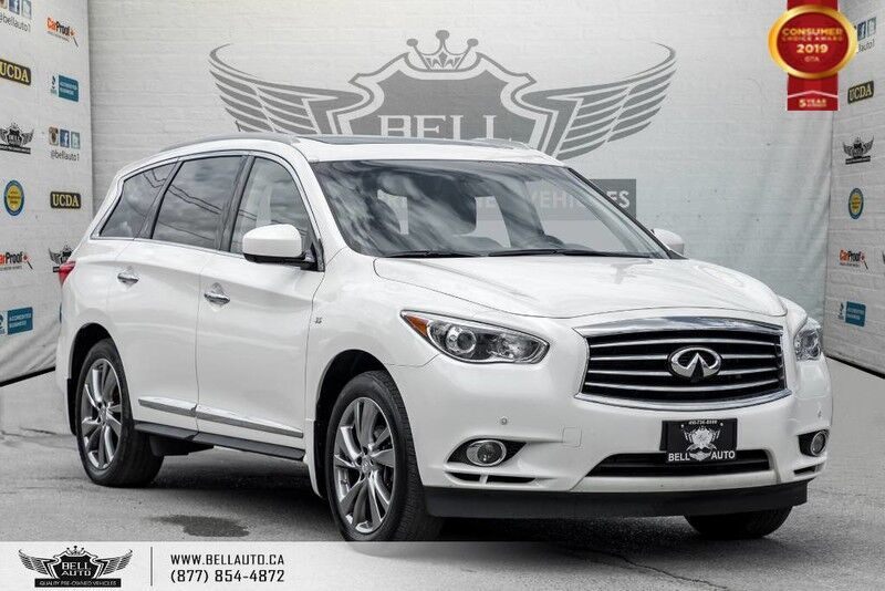 2015 INFINITI QX60 AWD, NO ACCIDENT, 7 PASS, NAVI, 360 CAM, SUNROOF