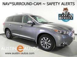 2015_INFINITI_QX60_*NAVIGATION, BLIND SPOT ALERT, COLLISION ALERT, SURROUND CAMERAS, ADAPTIVE CRUISE, HEATED SEATS/STEERING WHEEL, BOSE AUDIO, BLUETOOTH_ Round Rock TX