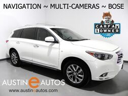 2015_INFINITI_QX60_*NAVIGATION, SURROUND CAMERAS, MOONROOF, LEATHER, 3RD ROW SEATING, HEATED SEATS, BOSE AUDIO, BLUETOOTH PHONE & AUDIO_ Round Rock TX