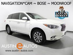 2015_INFINITI_QX60_*NAVIGATION, SURROUND CAMERAS, MOONROOF, LEATHER, HEATED SEATS/STEERING WHEEL, BOSE AUDIO, BLUETOOTH_ Round Rock TX