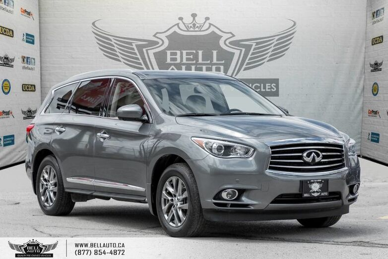 2015 INFINITI QX60 PREMIUM, AWD, NAVI, BACK-UP CAM, SUNROOF, LEATHER, BLUETOOTH Toronto ON