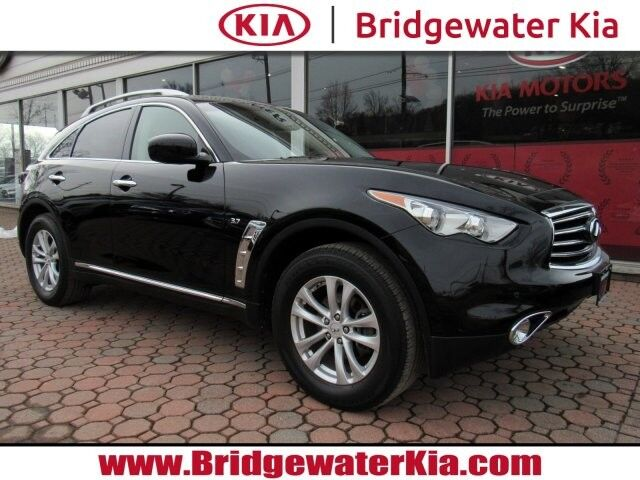 2015 INFINITI QX70 AWD, Premium Package, Navigation, Rear-View Camera, Bluetooth Streaming Audio, Bose Premium Sound, Heated Leather Seats, Power Sunroof, 18-Inch Alloy Wheels, Bridgewater NJ