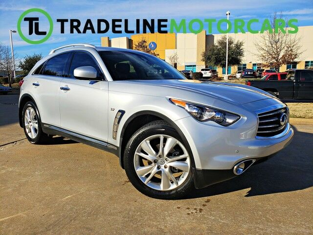 2015 INFINITI QX70 LEATHER, NAVIGATION, SUNROOF, AND MUCH MORE!!! CARROLLTON TX