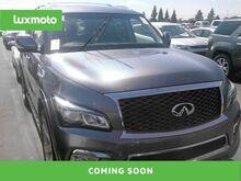 2015_INFINITI_QX80_4WD 3rd Row Blind Spot Asst Nav Rear Entertainment_ Portland OR