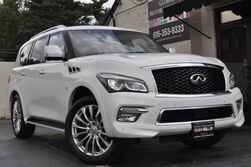 INFINITI QX80 4WD/Deluxe Technology Package w/ Navigation, Heated Seats & Heated Steering Wheel/Driver's Assistance Package w/ Blind Spot Warning, Intelligent Cruise Control, 360* Cameras/Theater Package/22'' Wheel Package 2015