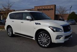 INFINITI QX80 4X4/Theater Pkg/Nav/360 Cams/Htd Seats/Middle Row Captains/Loaded 2015