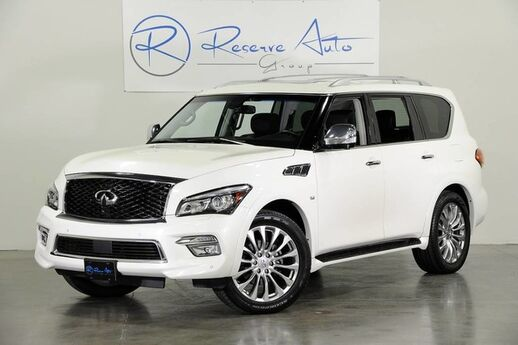 2015 INFINITI QX80 Deluxe Tech Theater Drivers Asst 22 Wheel The Colony TX