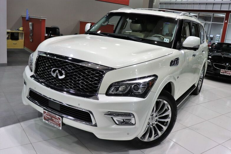 2015 INFINITI QX80 Navigation Sunroof Running Boards Luggage rack Lane Departure Springfield NJ