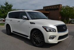 INFINITI QX80 Rare Limited Ed/Rare Color Combo/4X4/New Tires/Suede Headliner/Diamond Quilted Heated&Cooled Seats/Blind Spot Monitor/Theater Pkg/Middle Row Captains/ 22'' Wheels/Must See! 2015