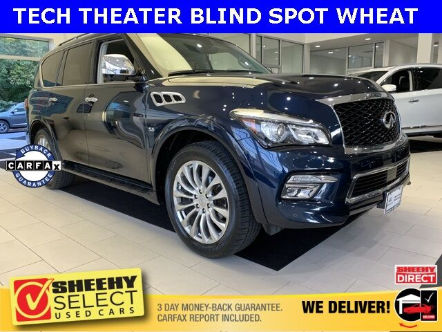 2015 INFINITI QX80 TECH THEATER AWD Annapolis MD