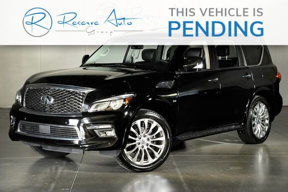 2015_INFINITI_QX80 Theater 4WD Drivers Asst 22 Wheel__ The Colony TX