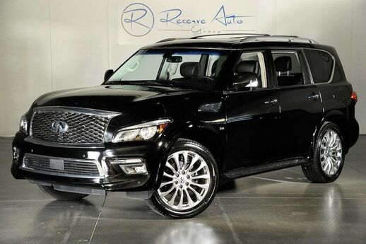 2015 INFINITI QX80 Theater 4WD Drivers Asst 22 Wheel  The Colony TX