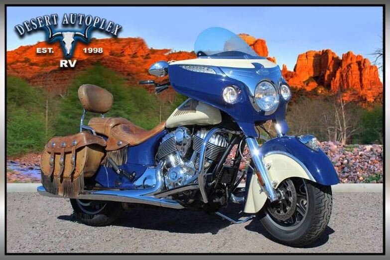 2015 Indian Chieftain Bagger Motorcycle Mesa AZ