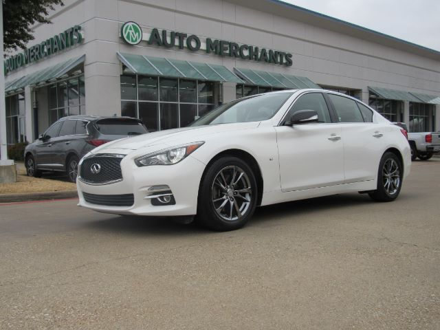 2015 Infiniti Q50 Base 3 7l 6cyl Automatic Navigation