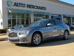 2015 Infiniti Q50 Premium AWD, LEATHER, BACKUP CAM, SUNROOF, HEATED SEATS, PUSH BUTTON START, HOMELINK,