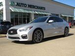 2015 Infiniti Q50 Sport *DELUXE TOURING PACKAGE*, LEATHER, NAVIGATION, SUNROOF, BACKUP CAMERA, HTD FRONT STS