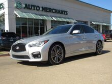 2015_Infiniti_Q50_Sport *DELUXE TOURING PACKAGE*, LEATHER, NAVIGATION, SUNROOF, BACKUP CAMERA, HTD FRONT STS_ Plano TX