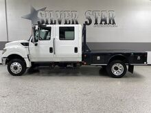 2015_International Harvester_Terrastar_4x4 CrewCab FlatBed_ Dallas TX