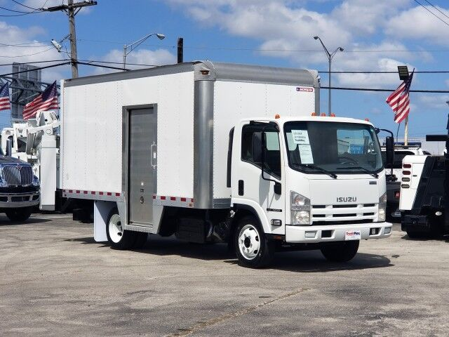 2015 Isuzu NRR 16' Dry Box Truck with side door and 1500 lbs lift gate Miami FL