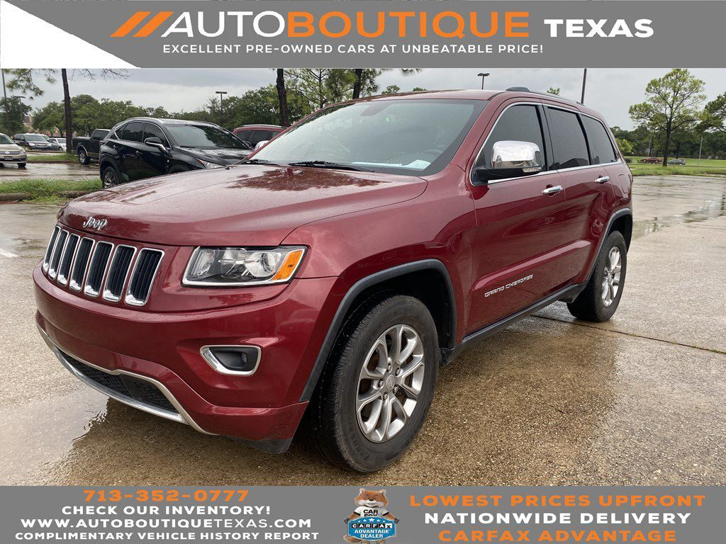 2015 JEEP GRAND CHEROKEE LIMITED Houston TX