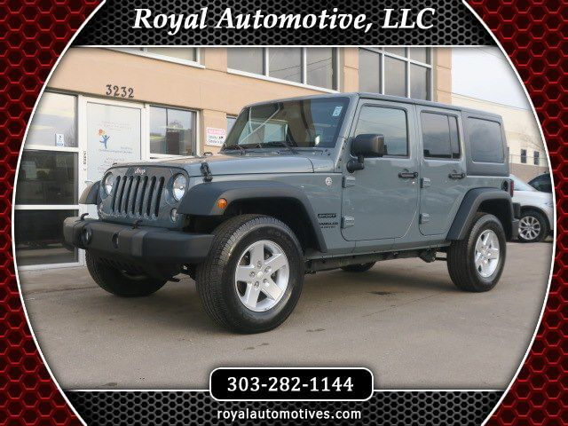 2015 JEEP WRANGLER UNLIMI SPORT Englewood CO