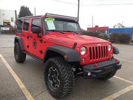 2015 JEEP WRANGLER UNLIMITED RUBICON Frankfort KY