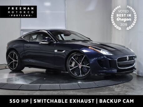 2015_Jaguar_F-TYPE_V8 R 550 HP Supercharged V8 Active Exhaust_ Portland OR